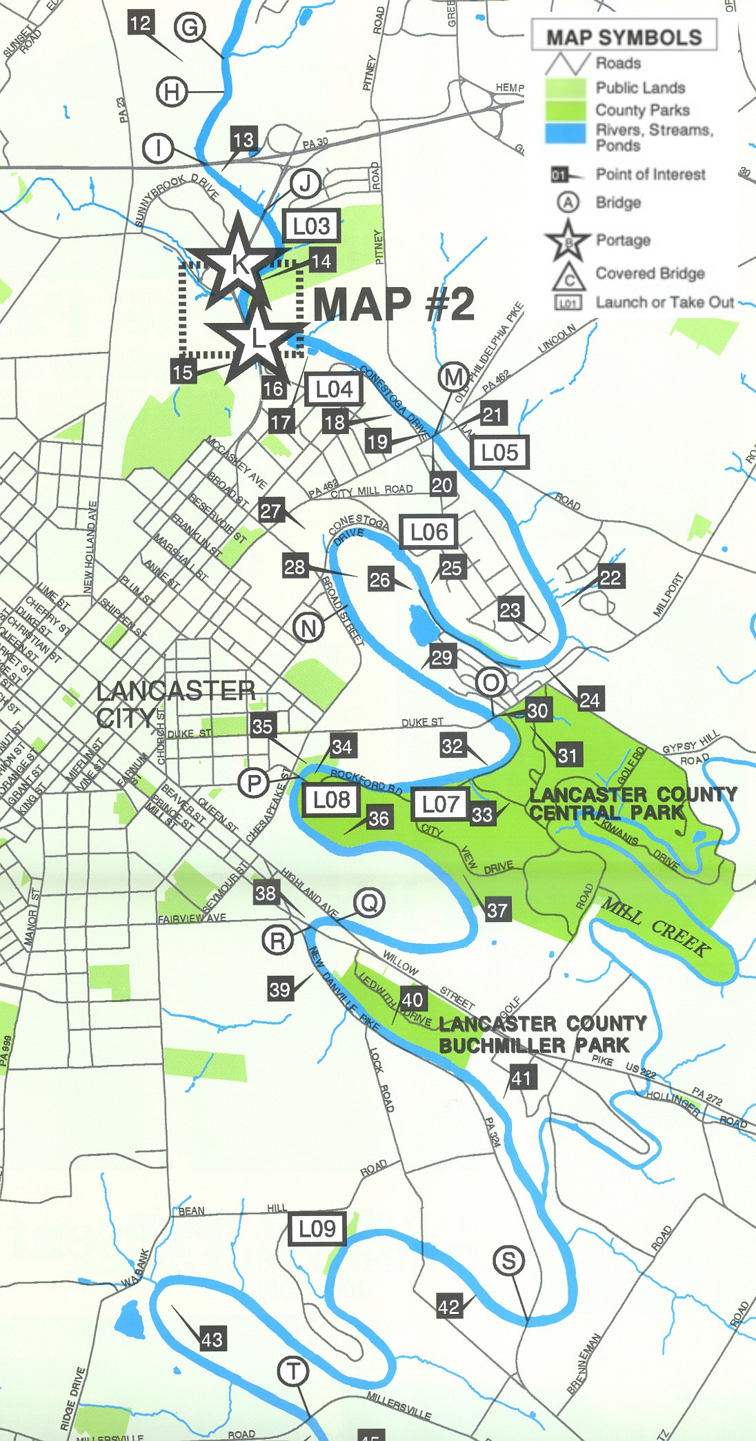 Publications | Lancaster County, PA - Official Website on delaware river fishing maps, sayre athens history maps, kayaking potomac river maps,