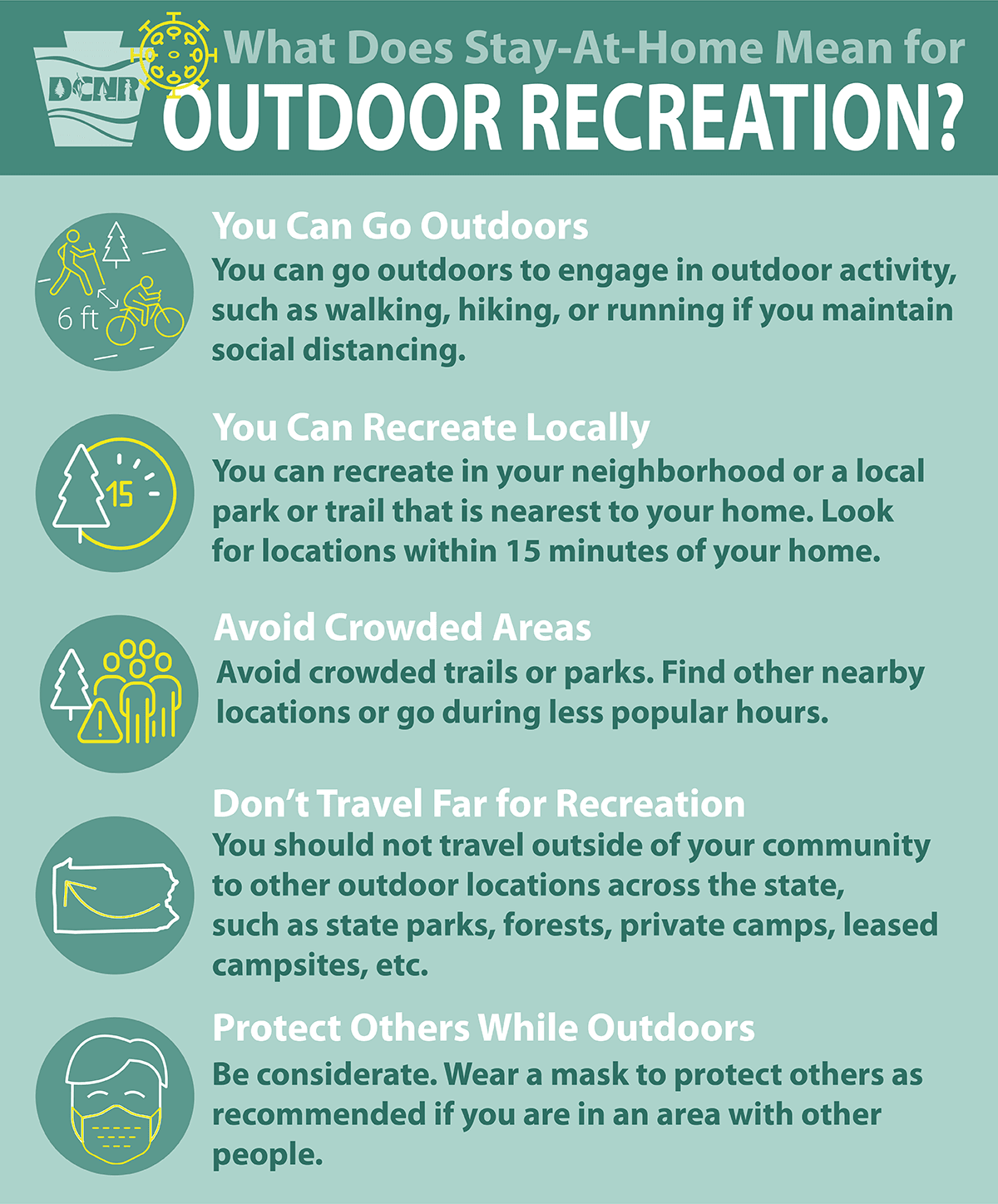 Stay at Home and Outdoor Recreation