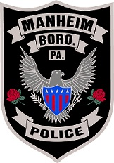 Manheim Borough Police Patch